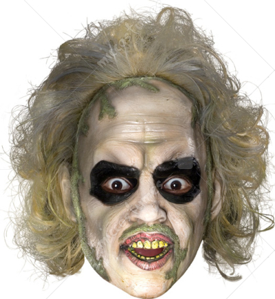 Beetlejuice 3 4 vinyl mask w ha