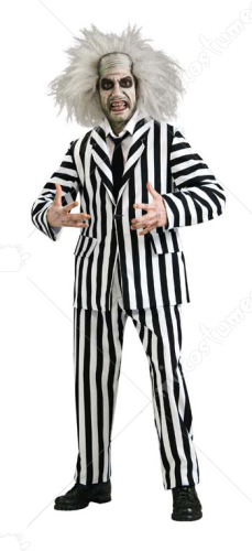 Beetlejuice Grand Heritage Extra Large Adult Costume