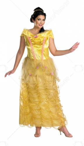 Beauty And The Beast-Belle Deluxe Plus Costume