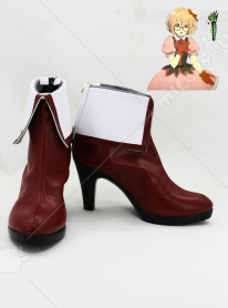 Beyond the Boundary Mirai Kuriyama Idol Cosplay Shoes