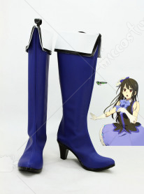 Beyond the Boundary Mitsuki Nase Idol Cosplay Shoes