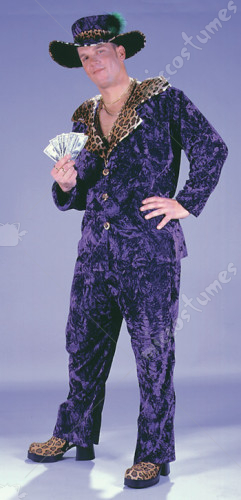 Big Daddy Purple Adult Costume