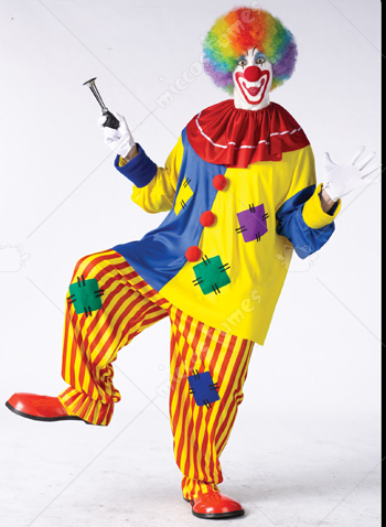 Big Top Clown Adult Plus Size Costume