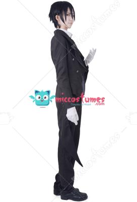 [Free US Economy Shipping] Black Butler Sebastian Michaelis Cosplay Costume