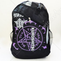 Black Butler Faustian Contract Black Backpack