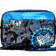 Black Butler Black Shoulder Bag Burnished Leather