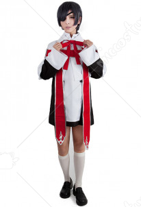 Black Butler Ciel Phantomhive Church Cosplay Costume