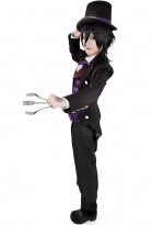 Cosplay Costume de Sebastian dans Black Butler Book of Circus