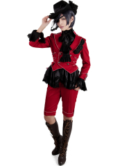 Black Butler Ciel Phantomhive Red Cosplay Costume