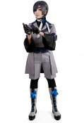 Black Butler Season 3 Ciel Phantomhive Gray Cosplay Costume