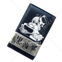 Black Butler Ciel Bifold Long Wallet Black