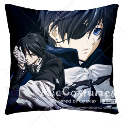 Black Butler Ciel Black Pillow