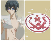 Black Butler Ciel Cosplay Tattoo Sticker