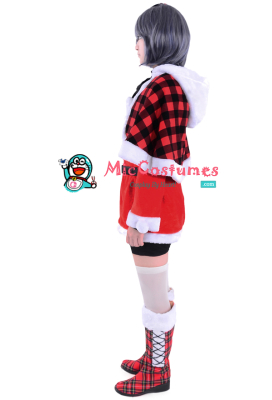 Black Butler Ciel Phantomhive Christmas Cosplay Costume