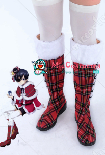Black Butler Ciel Phantomhive Christmas Cosplay Shoes