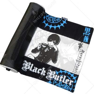 Black Butler Ciel Scroll Pencil Bag