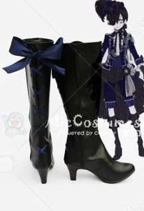 Black Butler Ciel in Knight Cosplay Boots