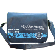 Black Butler Dark Blue Flip Shouler Bag