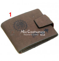 Black Butler Faustian Contract Bifold Wallet Grey