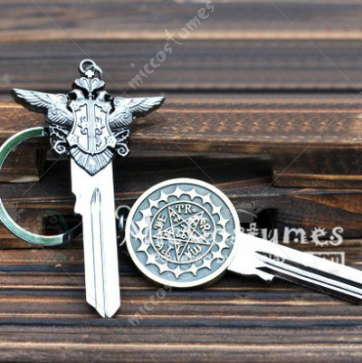 Black Butler Faustian Contract Keychain