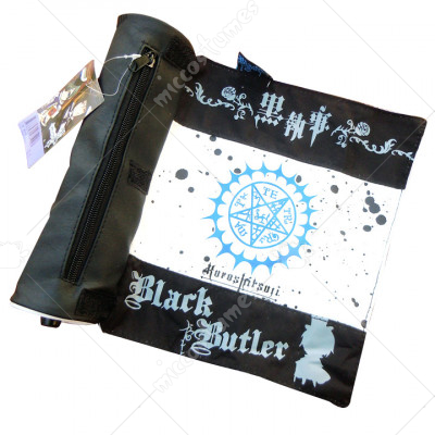 Black Butler Faustian Contract Scroll Pencil Bag