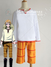 Black Butler Finnian Cosplay Costume Men M/Women M