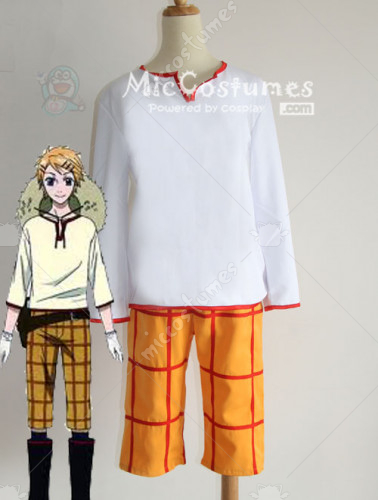 Black Butler Finnian Cosplay Costume