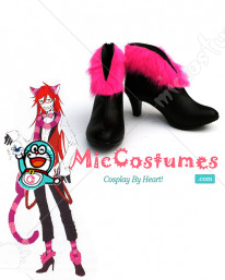 Black Butler Grell Cosplay Boots