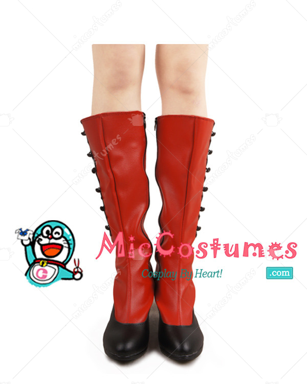 Madameredd Review Kiss Brush On Gel Nail Kit: Black Butler Madame Red Cosplay Boots For Sale