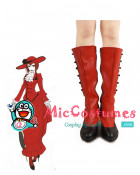 Black Butler Madame Red Cosplay Boots