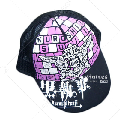 Black Butler Purple Cap