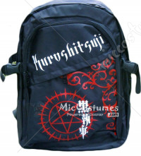 Black Butler Red Faustian Contract Black Backpack