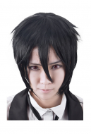 Kuroshitsuji Black Butler Sebastian Michaelis Cosplay Wig