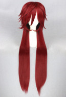 Kuroshitsuji-Black Butler Grell Sutcliff Cosplay Wig