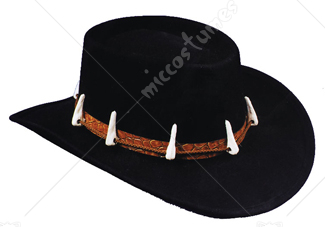 Black Crocodile Hat
