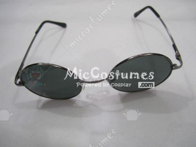 Black Eye Glasses For HunterX Leorio Paladinight Cosplay