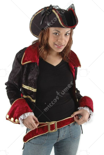Black Lady Buccaneer Hat