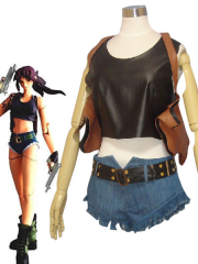 Black Lagoon Revy Cosplay Costume