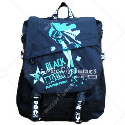 Black Rock Shooter Dark Blue Backpack
