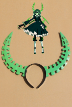 Black Rock Shooter Death Master Headwear Green