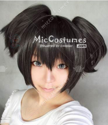 Black Rock Shooter Kuroi Mato Cosplay Wig