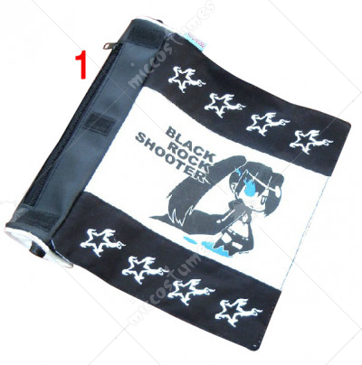 Black Rock Shooter Miku Scroll Pencil Bag
