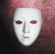 Blank Drama Female Mask