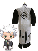 Bleach 10th Division Captain Toshiro Hitsugaya Kids Cosplay Coat