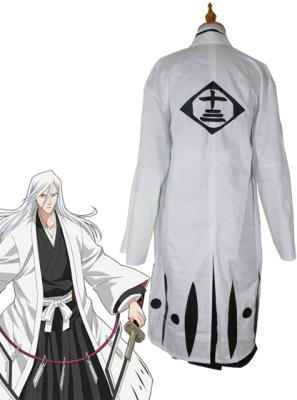 Bleach 13th Division Captain Ukitake Jushiro Cosplay Costume