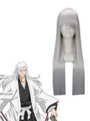 Bleach 13th Division Captain Ukitake Jushiro Cosplay Wig
