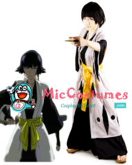 Bleach 2nd Division Captain Soi Fon Cosplay Costume