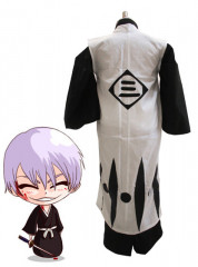 Bleach 3rd Division Captain Ichimaru Gin Kids Cosplay Costume