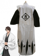 Bleach 5th Division Captain Aizen Sosuke Kids Cosplay Costume