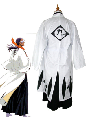 Bleach 9th Division Captain Tosen Kaname Cosplay Costume